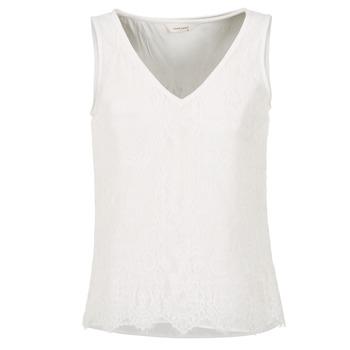 Abbigliamento Donna Top / T-shirt senza maniche Naf Naf LADALIA Ecru