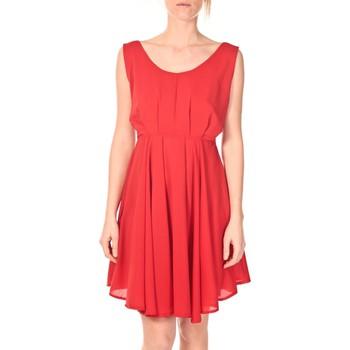 Abbigliamento Donna Abiti corti Aggabarti Aggarbati Robe Bretelles 121084 Cerise Rosso