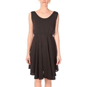 Abbigliamento Donna Abiti corti Aggabarti Aggarbati Robe Bretelles 121084 Noir Nero