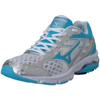 Scarpe Donna Running / Trail Mizuno Advance Bianco-Celeste