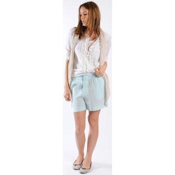 Abbigliamento Donna Shorts / Bermuda Gat Rimon BERMUDA HARLEY MENTHE Verde