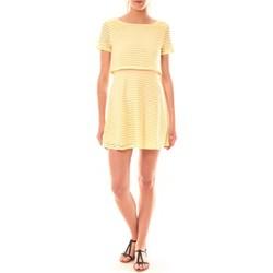 Abbigliamento Donna Abiti corti La Vitrine De La Mode Robe LC-0461 By La Vitrine Jaune Giallo