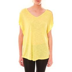 Abbigliamento Donna T-shirt maniche corte Dress Code Top M-9388  Jaune Giallo