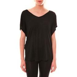Abbigliamento Donna T-shirt maniche corte Dress Code Top M-9388  Noir Nero