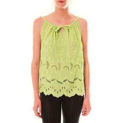 Abbigliamento Donna Top / T-shirt senza maniche Dress Code Debardeur HS-1019  Amande Verde