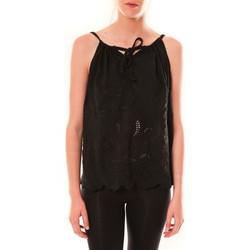 Abbigliamento Donna Top / T-shirt senza maniche Dress Code Debardeur HS-1019  Noir Nero