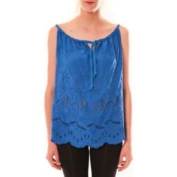 Abbigliamento Donna Top / T-shirt senza maniche Dress Code Debardeur HS-1019  Bleu Blu