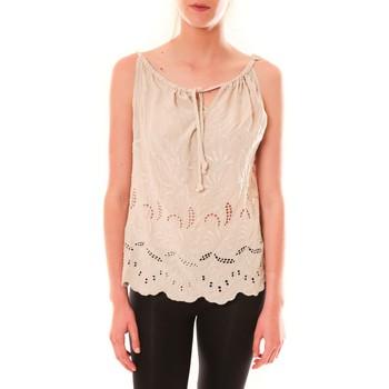 Abbigliamento Donna Top / T-shirt senza maniche Dress Code Debardeur HS-1019  Beige Beige