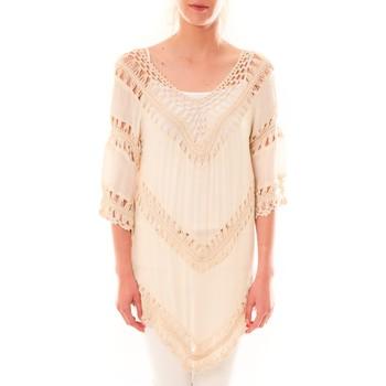 Abbigliamento Donna Tuniche Dress Code Tunique Bubblee  Rose poudre Rosa