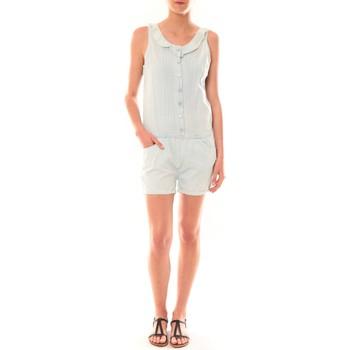 Abbigliamento Donna Tuta jumpsuit / Salopette Dress Code Combinaison F258  Denim Clair Blu