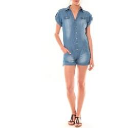 Abbigliamento Donna Tuta jumpsuit / Salopette Dress Code Combinaison F259  Denim Blu