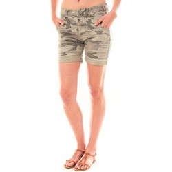 Abbigliamento Donna Shorts / Bermuda Dress Code Bermuda RX911  Kaki Verde