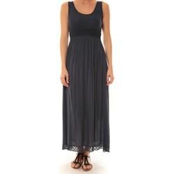 Abbigliamento Donna Abiti lunghi La Vitrine De La Mode Robe Z1392 By La Vitrine Marine Blu