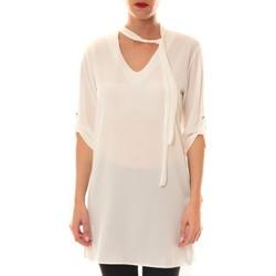 Abbigliamento Donna Top / Blusa La Vitrine De La Mode Robe 156 By La Vitrine Blanche Bianco