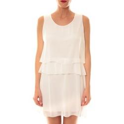 Abbigliamento Donna Abiti corti La Vitrine De La Mode Robe TROIS By La Vitrine Blanche Bianco