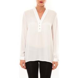 Abbigliamento Donna Top / Blusa La Vitrine De La Mode By La Vitrine Blouse M3060 blanc Bianco