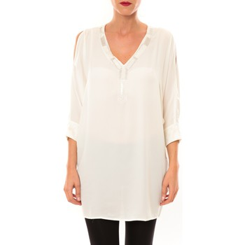 Abbigliamento Donna Tuniche La Vitrine De La Mode By La Vitrine Tunique LW15002 écru Beige