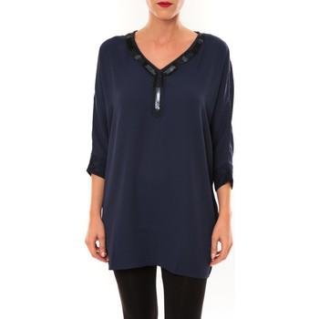 Abbigliamento Donna Tuniche La Vitrine De La Mode By La Vitrine Tunique LW15002 marine Blu