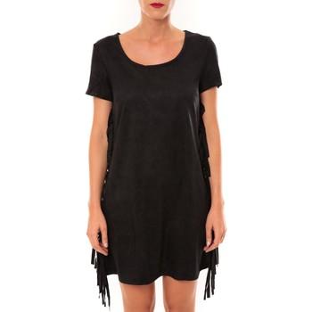 Abbigliamento Donna Abiti corti De Fil En Aiguille Robe MA8495 noir Nero