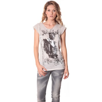 Abbigliamento Donna T-shirt maniche corte Rich & Royal Tee-shirt Little 13q430 Ecru Beige