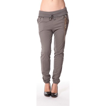 Abbigliamento Donna Pantaloni da tuta Rich & Royal Rich&Royal Pantalon City sweet kaki 13q915/477 Verde