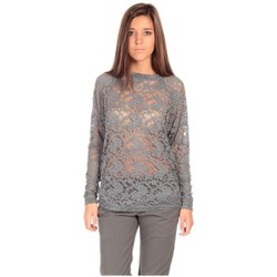 Abbigliamento Donna T-shirts a maniche lunghe Charlie Joe Top ZUCCA Gris Grigio