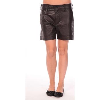 Abbigliamento Donna Shorts / Bermuda Charlie Joe Short Lake Nero