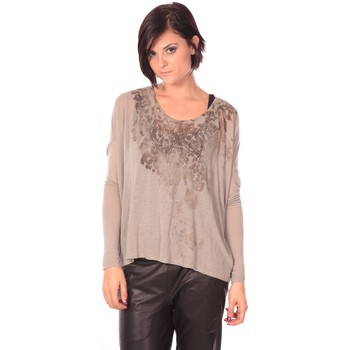 Abbigliamento Donna Tuniche Rich & Royal Rich&Royal Tunique Magela Taupe Marrone