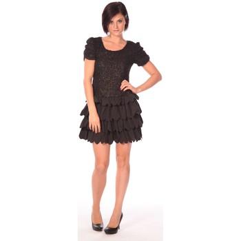Abbigliamento Donna Abiti corti Aggabarti Robe Dora 112009 Nero