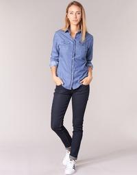 Abbigliamento Donna Jeans slim Yurban ESQUINE Blu