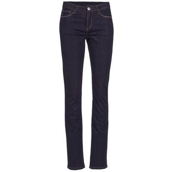 Abbigliamento Donna Jeans dritti Yurban ESQUANE Blu / SCURO