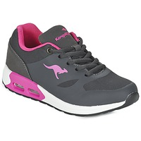 Scarpe Bambina Sneakers basse Kangaroos KANGA X Grigio / Rosa