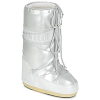 Scarpe Donna Stivali da neve Moon Boot MOON BOOT VYNIL MET Bianco