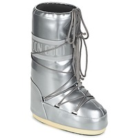 Scarpe Donna Stivali da neve Moon Boot MOON BOOT VYNIL MET Argento