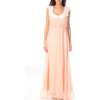Abbigliamento Donna Abiti lunghi Aggabarti Robe Claudine 121013 Arancio