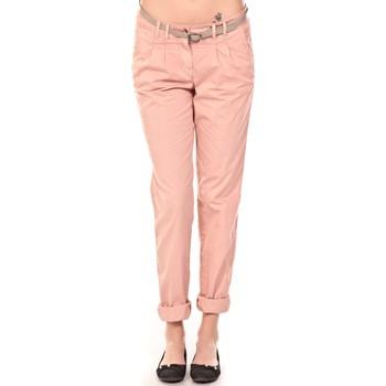 Abbigliamento Donna Pantaloni Tom Tailor Pantalon Ceinture saumon Arancio