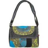 Borse Donna Tracolle Bamboo's Fashion Petit Sac Besace Libreville GN-155 vert Verde