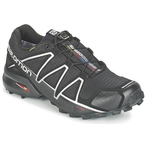 Scarpe Uomo Running / Trail Salomon SPEEDCROSS 4 GTX® Nero / Argento