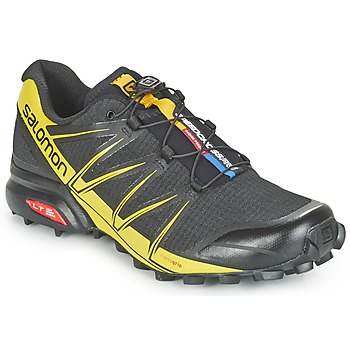 Scarpe Uomo Running / Trail Salomon SPEEDCROSS PRO Nero / Giallo