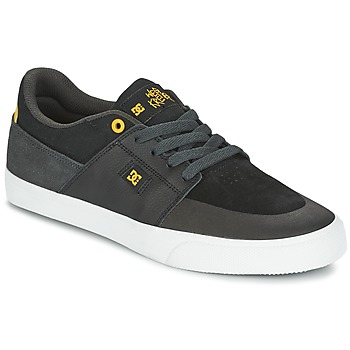 Scarpe Uomo Sneakers basse DC Shoes WES KREMER Nero / Grigio / Giallo