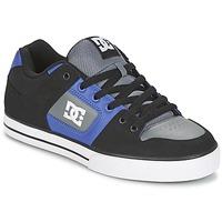Scarpe Uomo Scarpe da Skate DC Shoes PURE Nero / Blu / Grigio