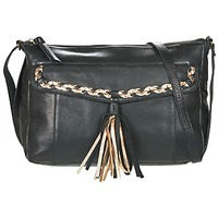 Borse Donna Tracolle Pieces POFO LEATHER Nero