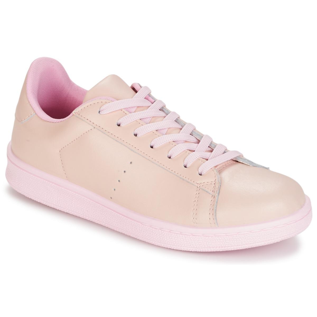 Yurban Sneakers basse EZIME spartoo-shoes rosa Sportivo
