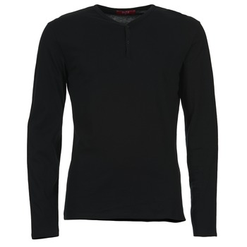 Abbigliamento Uomo T-shirts a maniche lunghe BOTD ETUNAMA Nero