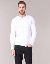 Abbigliamento Uomo T-shirts a maniche lunghe BOTD ETUNAMA Bianco