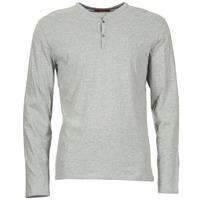 Abbigliamento Uomo T-shirts a maniche lunghe BOTD ETUNAMA Grigio / Chiné