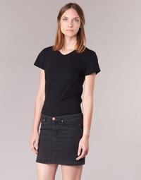 Abbigliamento Donna T-shirt maniche corte BOTD EFLOMU Nero