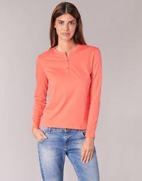 Abbigliamento Donna T-shirts a maniche lunghe BOTD EBISCOL Arancio