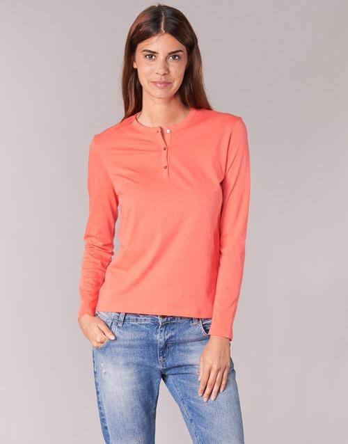 T Botd Arancio shirts Maniche A Ebiscol Lunghe Donna 0OwnPk