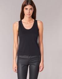 Abbigliamento Donna Top / T-shirt senza maniche BOTD EDEBALA Nero